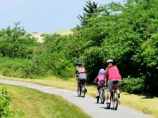 photo of bike trails nearby Cape Cod campgrounds