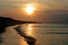 photo of a sunset over the beaches of Cape Cod truly one of the finest Cape Cod attractions