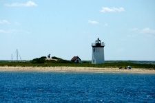 photo of Long Point Lighthouse on the very tip of Cape Cod