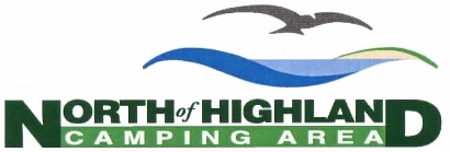 logo - North of HIghland Camping Area near the beach