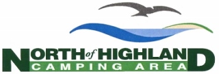 Logo of North of Highland Camping Area - Cape Cod campsites where you can walk to the beach while camping on Cape Cod