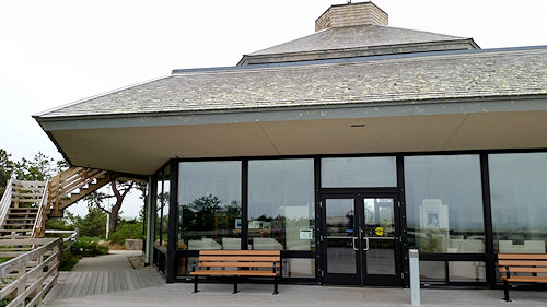 Province Land Visitor's Center along the Cod Bike Trails